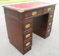 Small Military Style Writing Desk